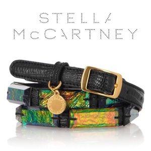 Stella McCartney belt with iridescent stones